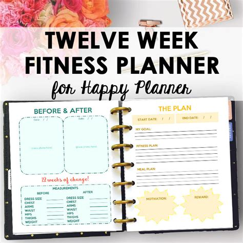 fitness journal planner workout exercise log diary for personal or competitive 15 weeks softback large 8 5 x 11 page exercise fitness gifts books happy planner fitness journal and weight loss planner for