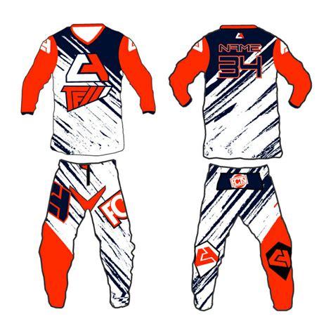 motocross gear set fctn quot shred quot motocross gear set custom apparel inc