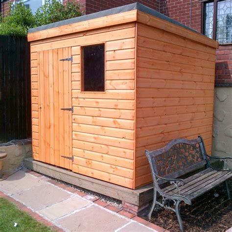 Pent Roof Shed by Pent Roof Shed Wales Sheds
