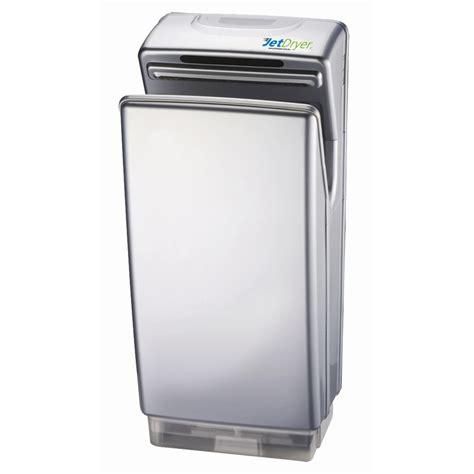 bathroom hand dryer jetdryer silver business bathroom hand dryer bunnings