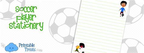 printable soccer stationery soccer player stationery printable treats com