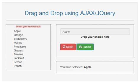 tutorial javascript drag and drop simple drag and drop using jquery free source code