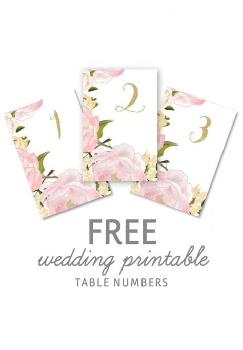 printable table numbers 1000 ideas about vintage table numbers on