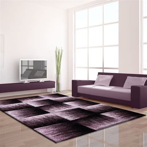 Where To Buy Quality Rugs by Modern Black Grey Brown Purple Grey Swirls