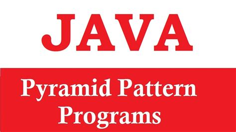 pattern triangle in java program to print triangle pattern in java exle 1