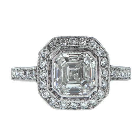 Asscher Cut Engagement Rings by Asscher Cut Engagement Ring