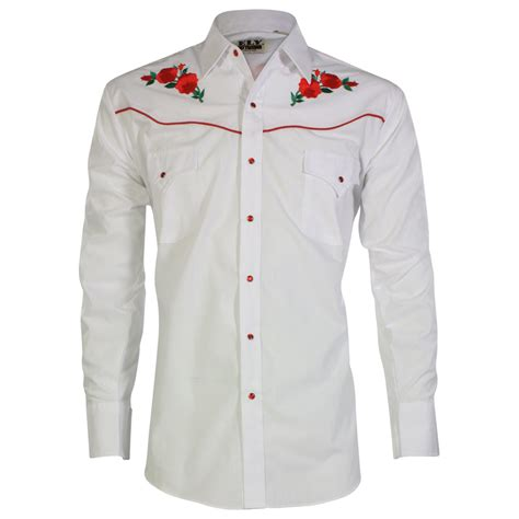 embroidered sleeve shirt ely walker s embroidered sleeve western