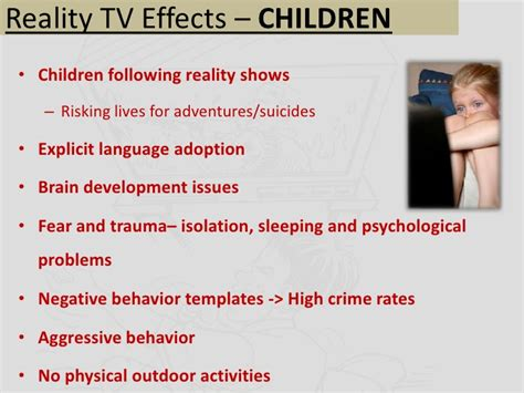 How Real Are Reality Shows Essay by Effect Of Reality Shows On Children