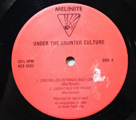 test pattern discogs melinite under the counter culture vinyl at discogs