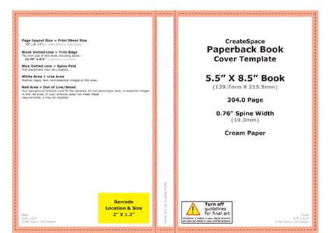 create space template key steps to self publishing