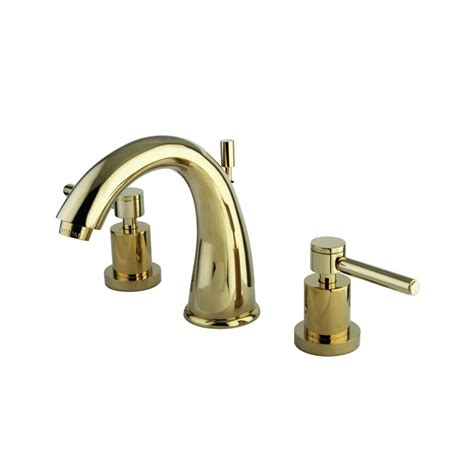 Polished Brass Faucets by Faucet Ks2962dl In Polished Brass By Kingston Brass