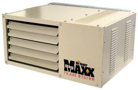 Garage Propane Heaters Ventless by Mr Heater Big Maxx 75 000 Btu Gas Garage Unit