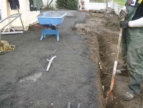 Laying Patio On Concrete by Laying Brick Pavers On Cement Steve Snedeker S