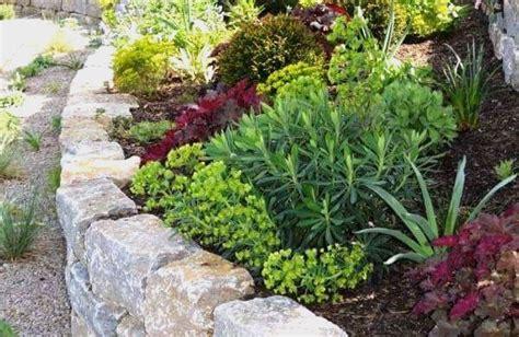 Moderne Gartengestaltung 4737 natursteinmauern