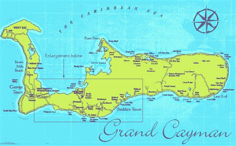 grand cayman map cayman s turtle nest inn just 10 from george town but far from the maddening crowds
