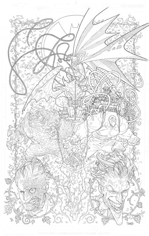 coloring pages for adults batman batman coloring book cover by timothygreenii on