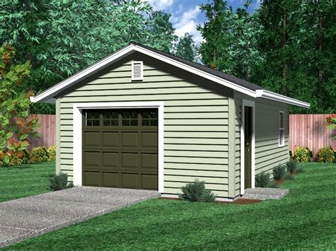 One Car Garage Ideas by Detached Garages