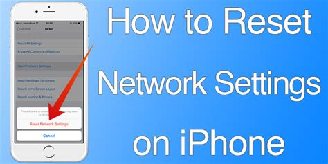 network reset on iphone 8 how to reset network settings on iphone or ipad