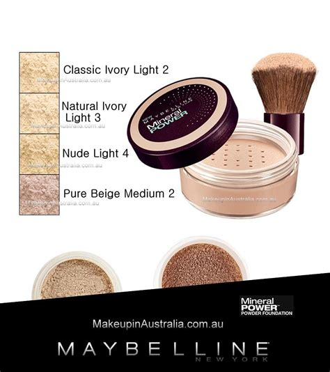 Maybelline Powder Foundation maybelline mineral power powder foundation maybelline