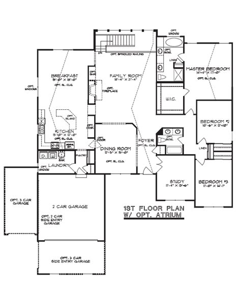 atrium ranch floor plans 28 atrium ranch floor plans gallery for gt atrium