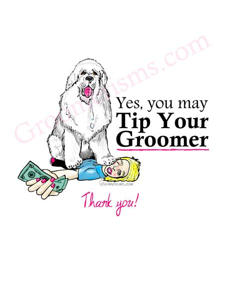 do you tip a groomer yes you may tip your groomer