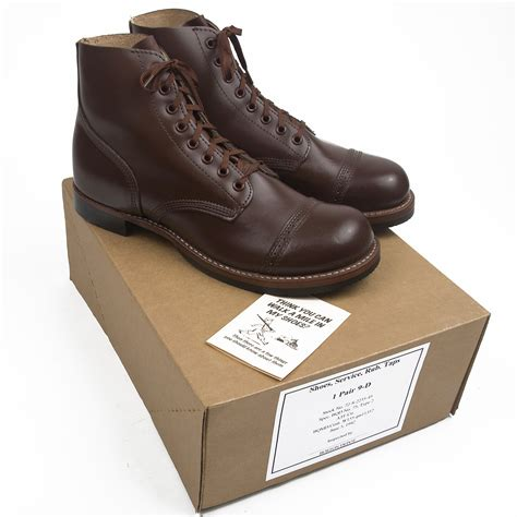 us wwii service shoes type ii made in usa atf