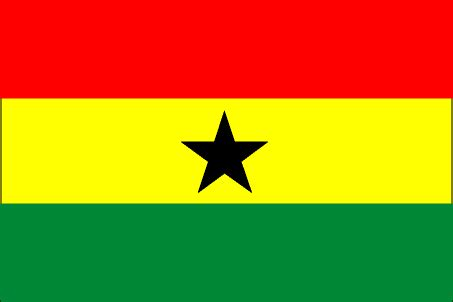 flags of the world green yellow red cia the world factbook 2002 flag of ghana
