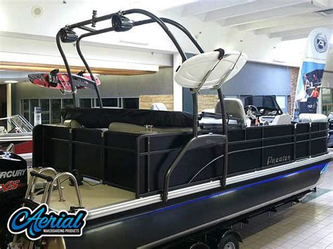 wakeboarding behind a hurricane deck boat wakeboard tower for pontoon boats this is how you can
