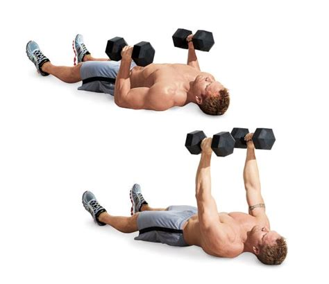 dumbbell bench press on floor floor press the 25 most powerful exercises from the 21