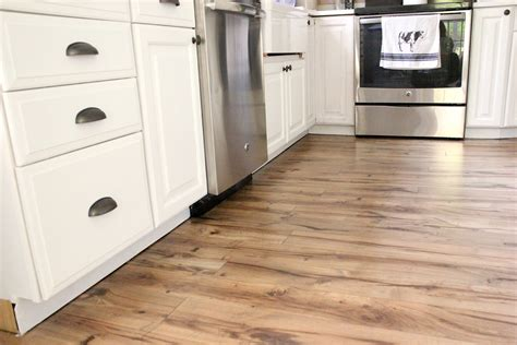 Can You Install Laminate Flooring Under Kitchen Cabinets
