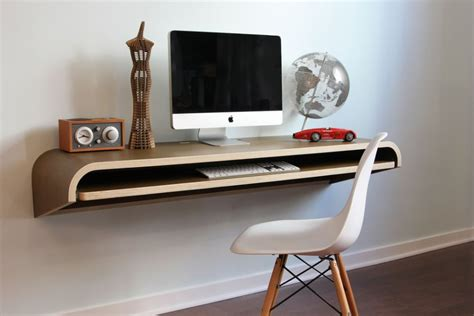 minimal float wall desk from orange 22
