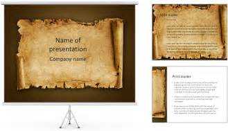 old papyrus powerpoint template amp backgrounds id