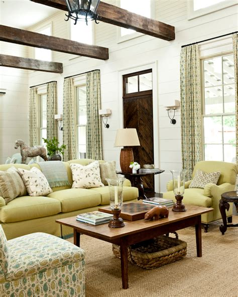 southern living rooms long living room cottage living room sherwin