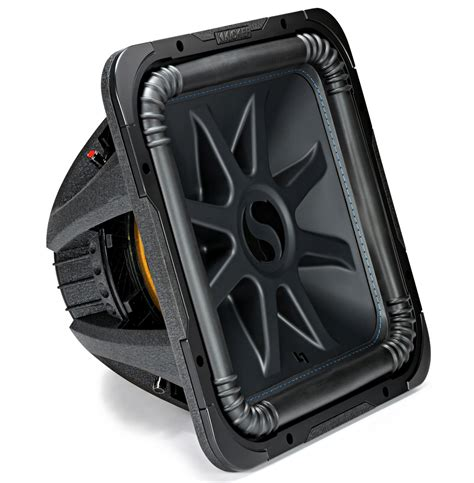 Speaker Subwoofer Kicker kicker l7s15 car audio baric 15 subwoofer square l7