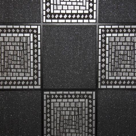 mosaic tile blacksilver wallsorts