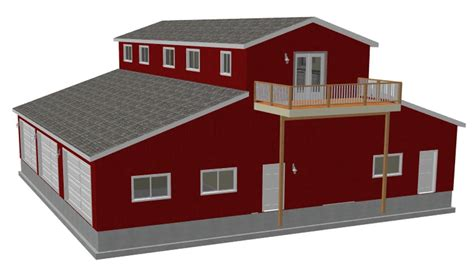 Pole Barn Apartment Floor Plans by Pole Barn Plans Shed Diy Plans