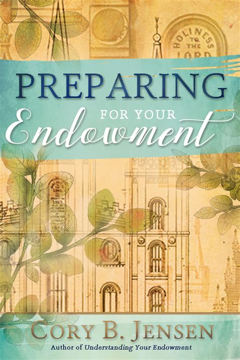 completing your endowment temple endowment books preparing for your endowment paperback temple isbn