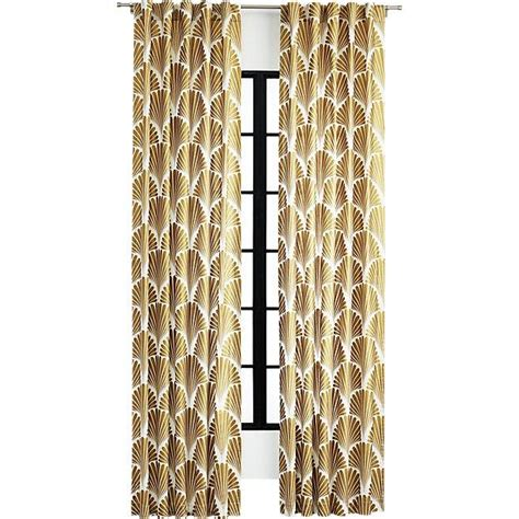 gold patterned curtains window treatments products bookmarks design