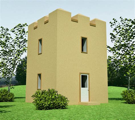 Castle House Plans With Towers by Castle Design Earthbag House Plans