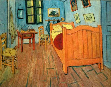 gsu 2d design vincent van gogh quot bedroom in arles quot 1888