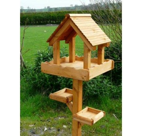 wooden bird table triple table wooden bird feeder