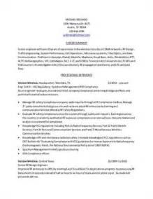 rf design engineer sle resume