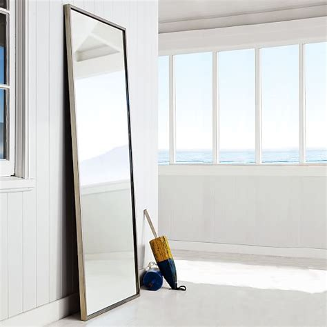 Floor Mirror West Elm by Metal Framed Floor Mirror West Elm