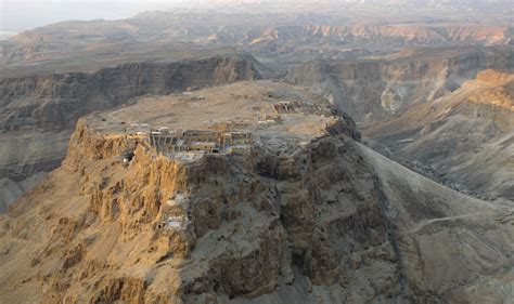 siege fortress hermits on masada citydesert
