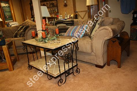 Wrought Iron End Tables Living Room by Custom Wrought Iron Coffee Tables Steel Expressions