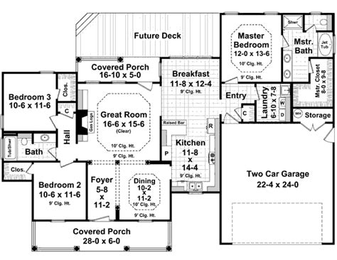 1700 sq ft house plans ranch style house plan 3 beds 2 baths 1700 sq ft plan