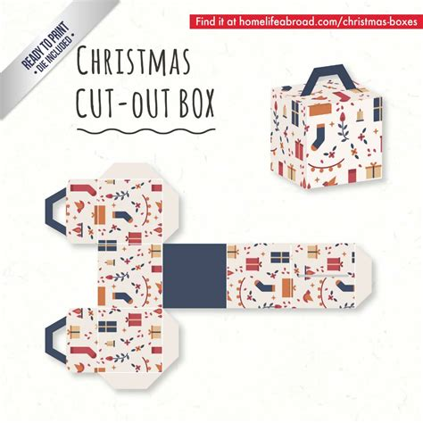 templates for christmas boxes mega collection of 38 diy christmas boxes with