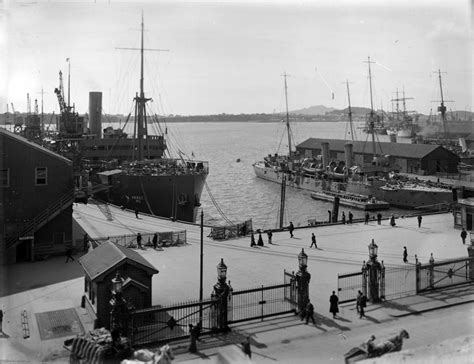 wellington boat show 2017 hms philomel in auckland 1914 nzhistory new zealand