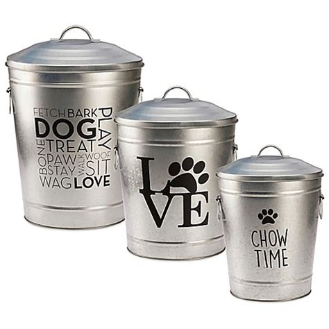 Food Storage Collection pooch pantry pet food storage collection bed bath beyond
