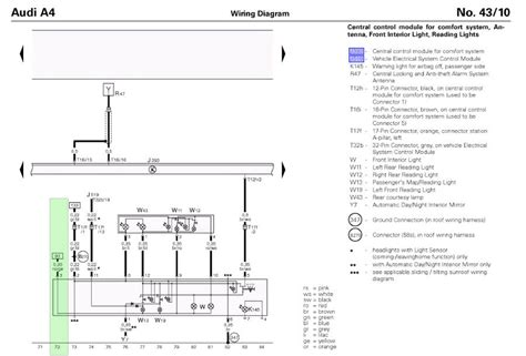 audi a4 convertible roof wiring diagram images wiring